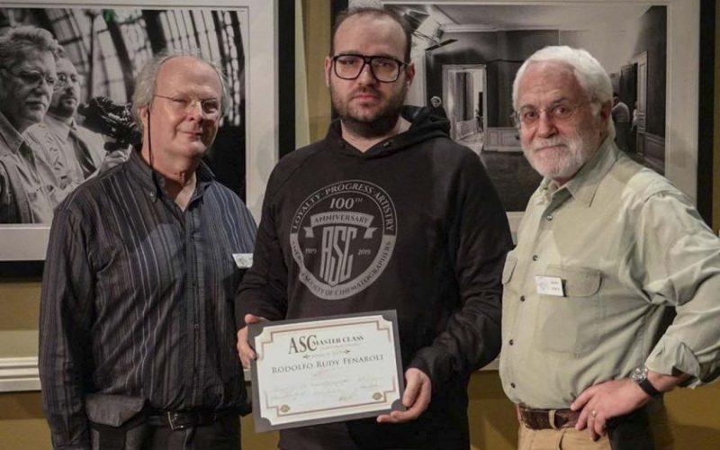 Masterclass dell'American Society of Cinematographers trascorso tra la Clubhouse ASC, il Mole Stage e le Aziende leader di Hollywood, CA nell'anno del 100° anniversario