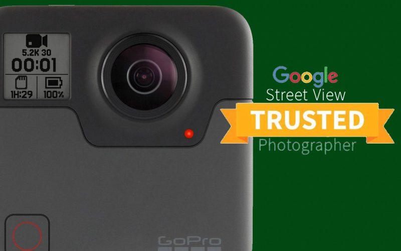Fotografo certificata Google Street View e Maps nella creazione di tour virtuali e panoramiche a 360 gradi